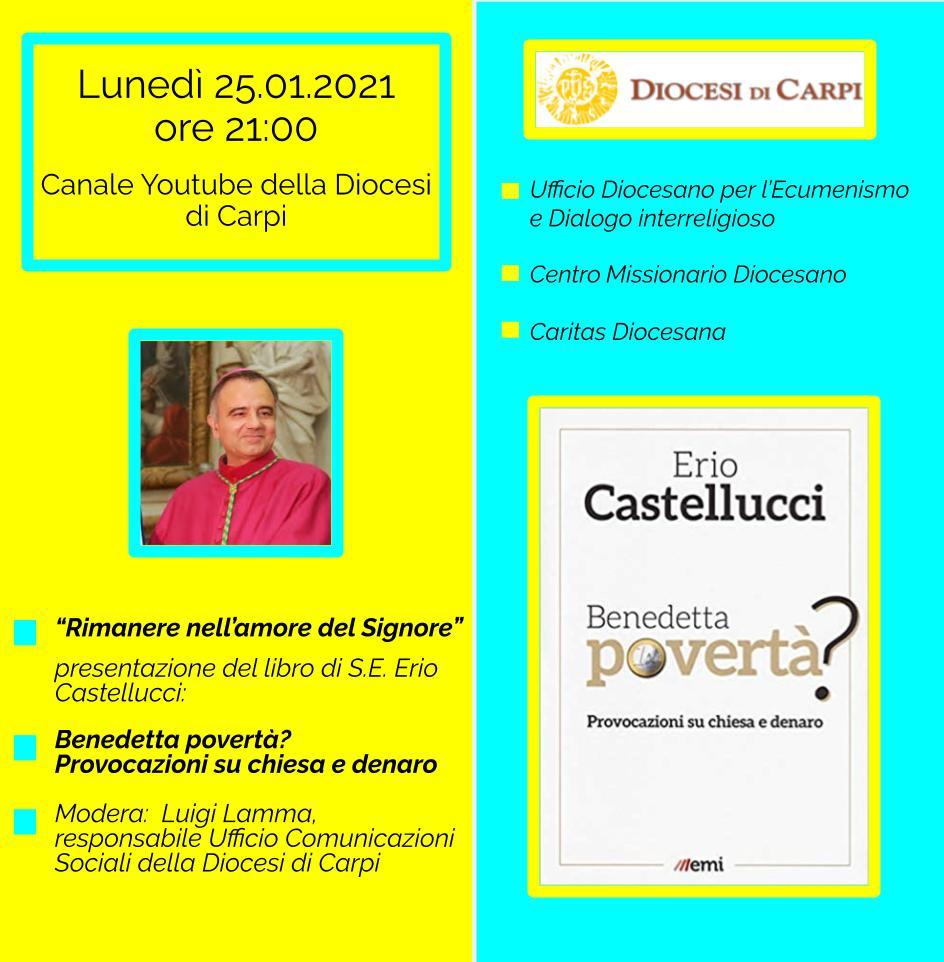 Presentazione del nuovo libro di S.E. Erio Castellucci