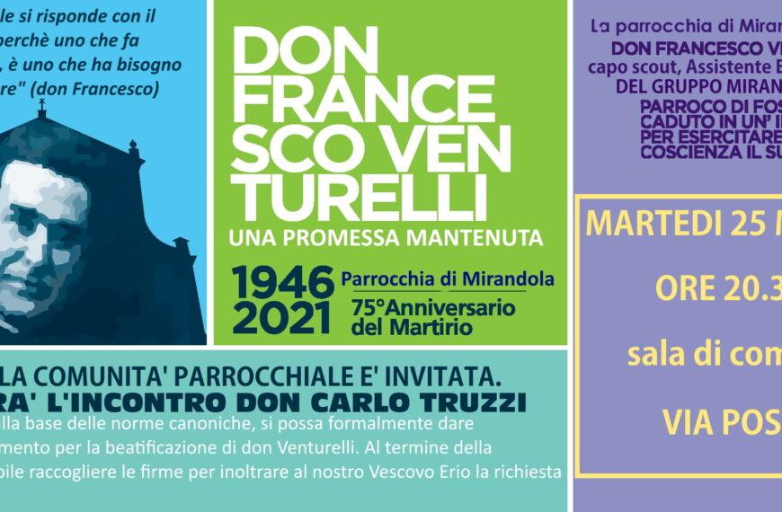 Ricordiamo Don Francesco Venturelli